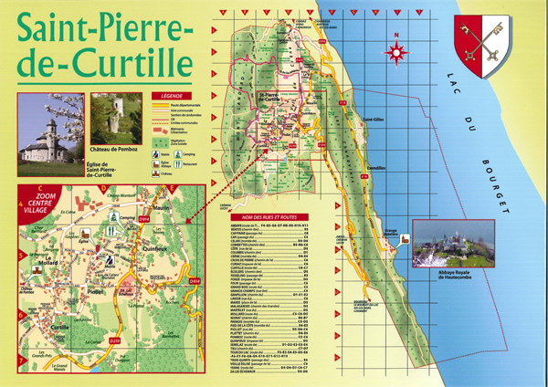 Plan Saint Pierre de Curtille