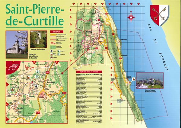 Plan Saint Pierre de Curtille
