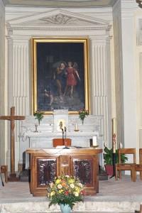La Libération de Saint Pierre, église de Saint Pierre de Curtille